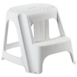 Stupadlo plastové, 2 stupne, 40 cm, biele, nos. 150 kg