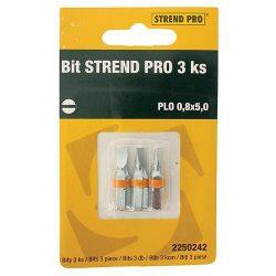 Bit STREND PRO, PLO 0,8x5,0, csomag 3 db