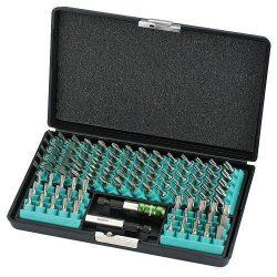 Készlet bites whirlpower® 96-18102, 102 részes, Hex