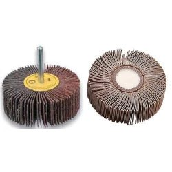Cone FW803, 80x30 mm, P080, lamellar, drill, drill