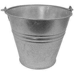 Erősített vödör, horganyzott - 4-12 literig
