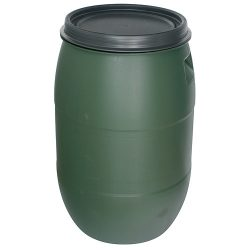 Pannon HDPE hordó - 120 l, 395 mm, zöld