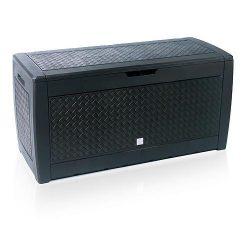 Kerti tároló doboz, 1190x480x600 mm, antracit