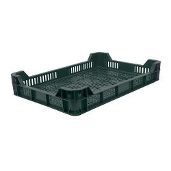 Crate M05, 10 liters, max. 5 kg, 600x400x97 cm, perforated, PE