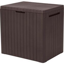 Kerti tároló doboz 113L, barna