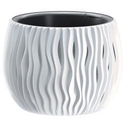 Flowerpot SANDY Bowl 240, 238x161 mm, gray