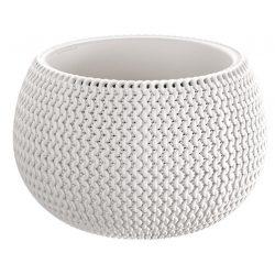 Flowerpot SPLOFY Bowl 290x195 mm, white