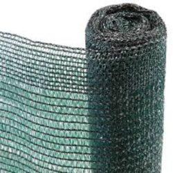 Ritka szövésű, UV álló árnyékoló háló - 90g/m2, 1 x 10 m 80%