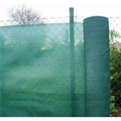 Árnyékoló háló, zöld - 160g/m2, 1 x 10 m 90%