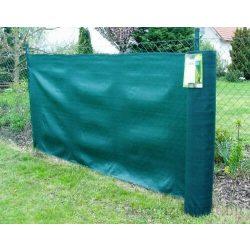 Vastagon szőtt időjárásálló árnyékoló háló, zöld - 230g/m2, 1 x 10 m 95%