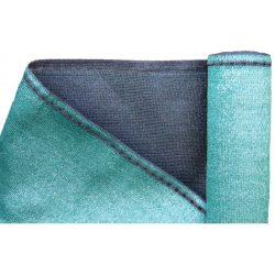 Árnyékoló háló, zöld - Extra vastag 1,5 x 10 m 99%