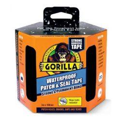 Gorilla vízálló ragasztó-, és tömítőszalag 3m x 100mm-fekete (3db/karton)