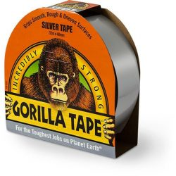 Gorilla Silver Tape 32m x 48mm ezüst ragasztószalag (6db/karton)