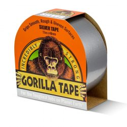 Gorilla Silver Tape 11m x 48mm ezüst (6db/karton)