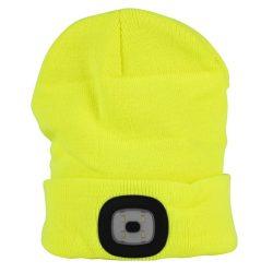 LED cap, yellow, 4x SMD LED