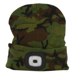 LED cap, camouflage, 4x SMD LED