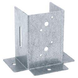oszloptalp lecsavarozható állítható nyitott 101 x 95 x 152 mm horganyzott