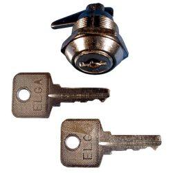 bútorzár C-37 hengeres +2 kulcs