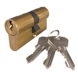 zárbetét ELZETT XT 27/27mm 3 kulcs réz