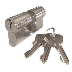zárbetét ELZETT XT  27/35mm 3 kulcs nikkel