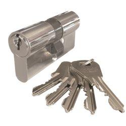 zárbetét ELZETT XT  30/30mm 5 kulcs nikkel