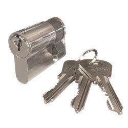 zárbetét ELZETT XT  félcilinder 31/10 3 kulcs nikkel