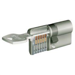 zárbetét ELZETT X-6 30/50mm fúrásvédett 5 fúrt kulcs
