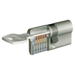 zárbetét ELZETT X-6 35/50mm fúrásvédett 5 fúrt kulcs