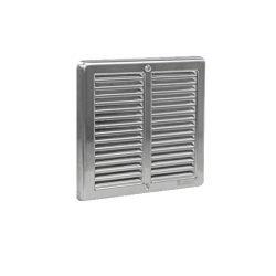 szellőzőrács beépíthető 150 x 150 mm rozsdamentes (hálós)