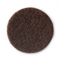 SB csúsztatófilc öntapadó d=50 fekete (2db)