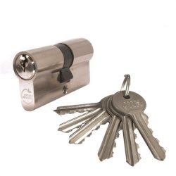 SB zárbetét  30/30mm  6 kulcs nikkel
