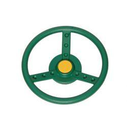 Kormánykerék - zöld
