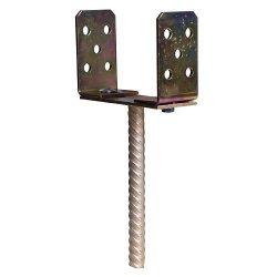 Támasz MA2300, 0-150 mm, Zn, beállíthatós, beágyazós