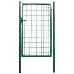 METALTEC ECO gate 1000x1400 mm, garden, green, ZN + PVC