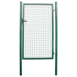 METALTEC ECO gate 1000x1600 mm, garden, green, ZN + PVC