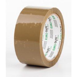 Eurotape SILENT - HALK üzemű erős csomagolószalag 50mm/60m barna 36db/karton
