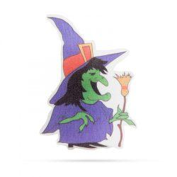 Halloween-i RGB LED dekor - öntapadós - boszorkány