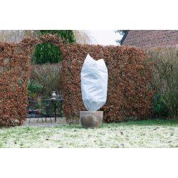 Téli takaró fólia zsinórral,fehér átm.70cmx1,5m 50g/m2 2db-os szett