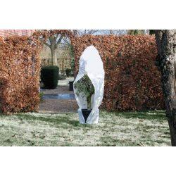 Téli takaró fólia zipzárral, fehér átm.150cmx2m 70g/m2