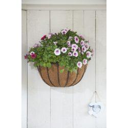 Virágtartó fali félkör 40 cm
