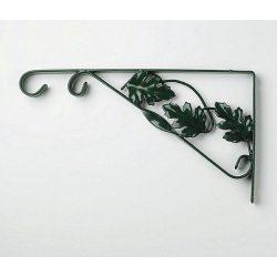 Fali virágtartó kar levélmintás 35 cm