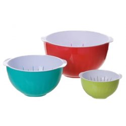 Bowl MagicHome, 1,20 / 2,00 / 3,40 lit salad, set of 3pcs