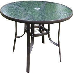 Carly üveg asztal