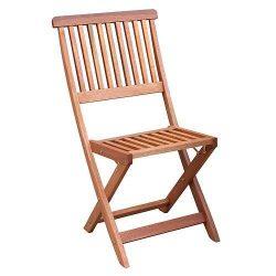 Magas minőségű Agersted fa szék, 46 x 58 x 87 cm