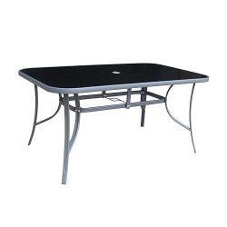 Gregory asztal, üveg