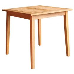 Table LEQ KYNDBY, 75x73 cm, wooden