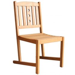 Chair LEQ KULBY, 46x58x95 cm, wooden