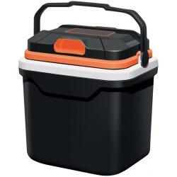 Autós hűtőtáska 2in1, 24 lit, 230V / 12V