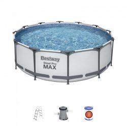 Steel Pro Max medence - 366 x 100 cm