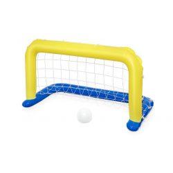 Felfújható focikapu és labda